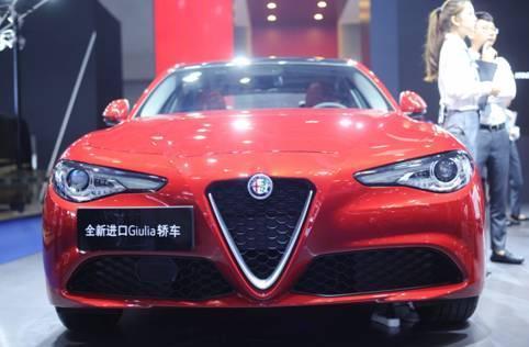 定价有惊喜 罗密欧Stelvio亮相重庆国际车展