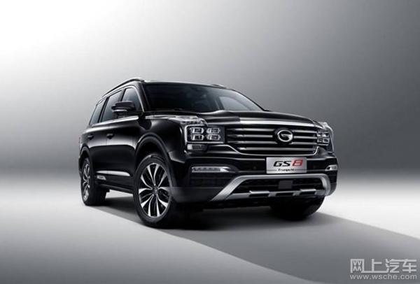 10月国产中型SUV销量前什,传祺GS8打败帮泰T600排名第二!