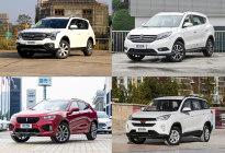 势如破竹 2017年中国品牌中型SUV汇总