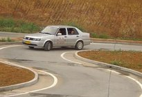 科目二考试曲线行驶不会,老司机教你掌握这个方法