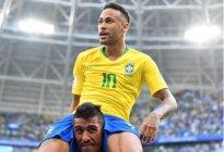 拒绝C罗、梅西,内马尔一传一射,力助巴西晋级