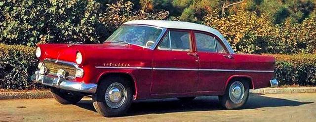 中国制造第一辆车是解放 中国制造第一辆轿车是东风