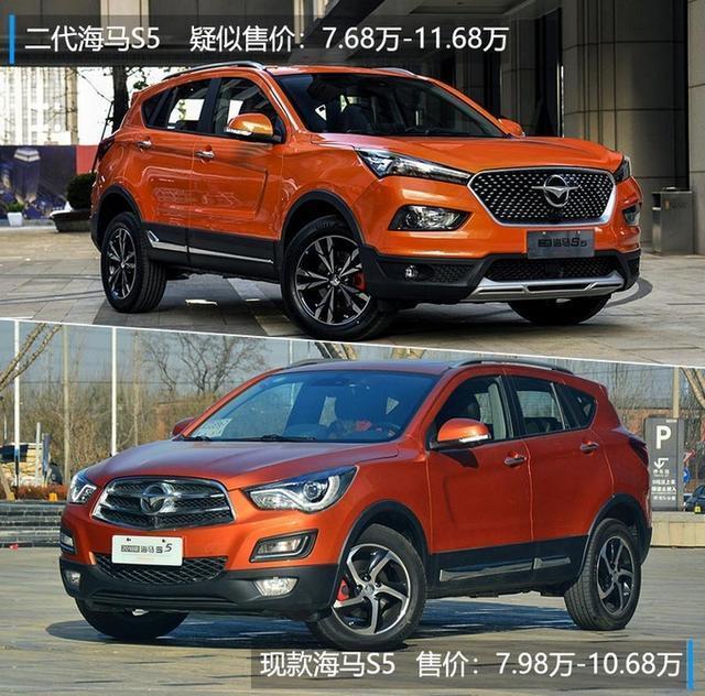 海马二代S5新SUV价格曝光 售7.68万-11.68万