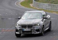 全新宝马X6正在德国纽博格林测试!4.4L V8发动机,600马力?