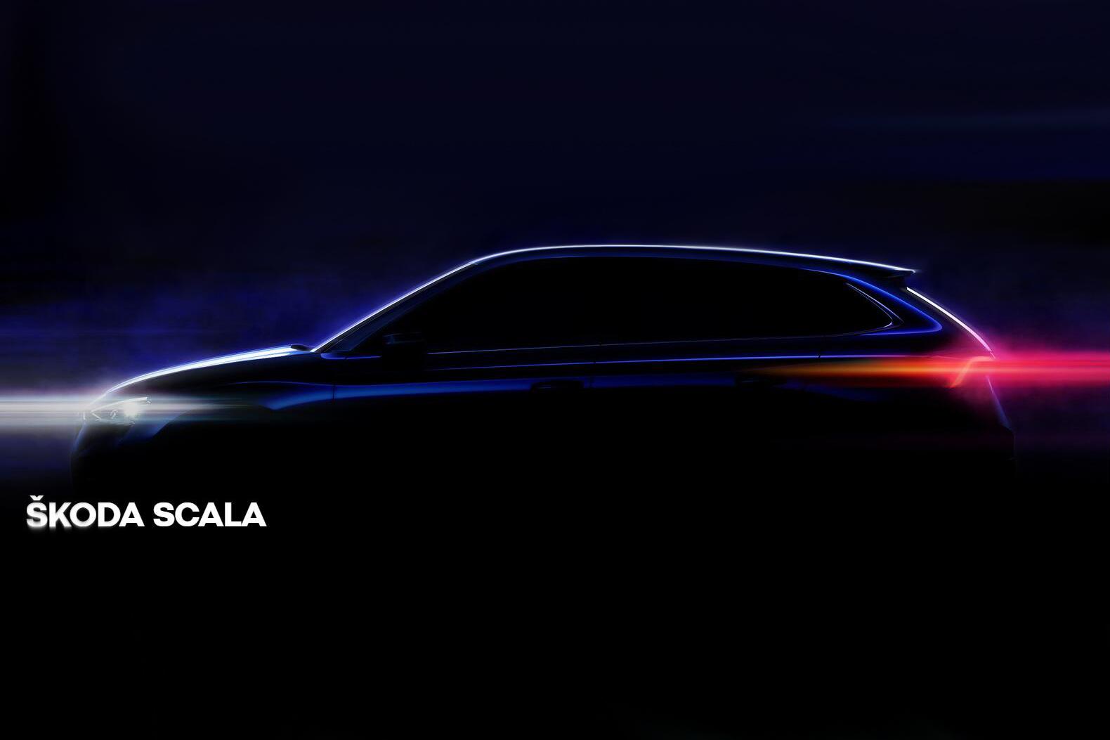 全新的风格  斯柯达SCALA内饰官图发布