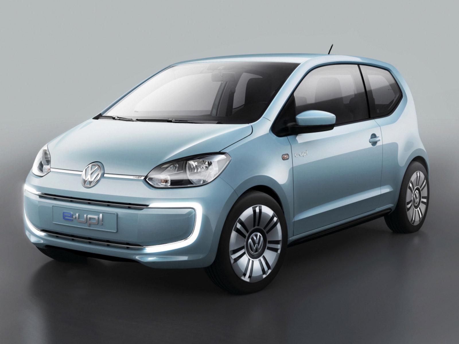 新大众e-up!等 大众2020年将发布多款新车型