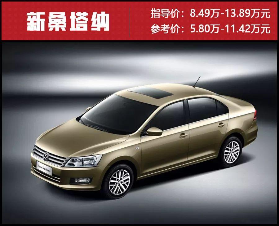 低至5.4万元,朗逸、轩逸等10款热门合资紧凑级家轿优惠盘点