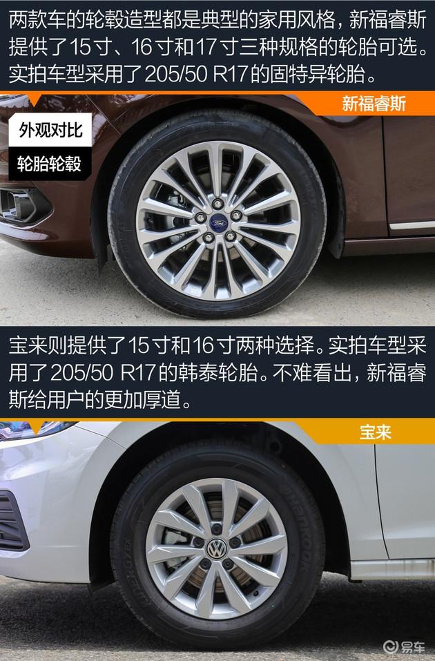谁才是10万元家用轿车之王 新福睿斯对比宝来