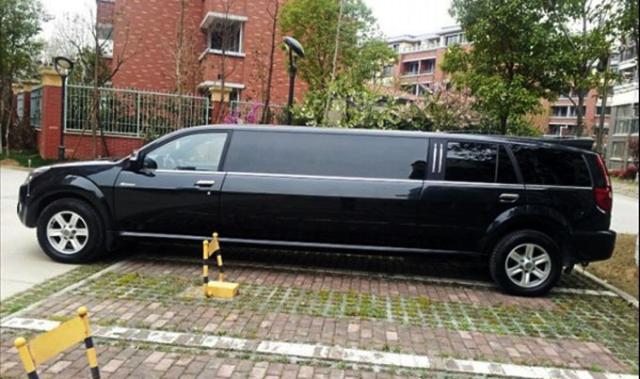 长城版的加长SUV,号称国产礼宾车!