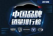 吉利再度夺冠 2018年中国品牌销量解析