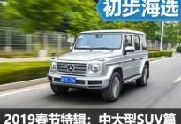 编辑喜欢的车 2019春节特辑中大型SUV篇