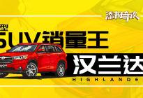 中型SUV销量王,趣说全新改款汉兰达