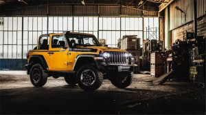 内日瓦车展Jeep亮相特别版牧马人,致敬军方!