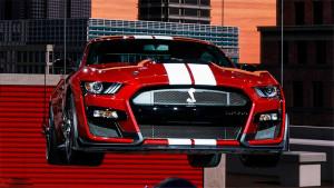 全新Mustang Shelby GT500极速达290km/h,拥有更强空气动力学
