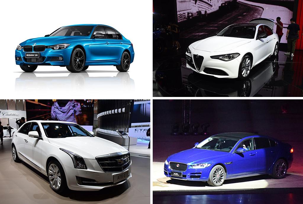 要运动、要豪华?这四款中型车不仅全都有,价格还很亲民!