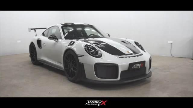 保时捷 911 GT2 RS贴膜实拍赏析