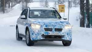 三箭齐发!宝马三款新能源车型挑战冰雪测试