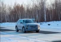 全新家族化设计理念 众泰中型SUV(内部代号为B21)谍照曝光
