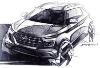 入门级小型SUV 现代Venue设计草图发布