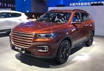 2019上海车展探馆:哈弗H6 300万纪念版