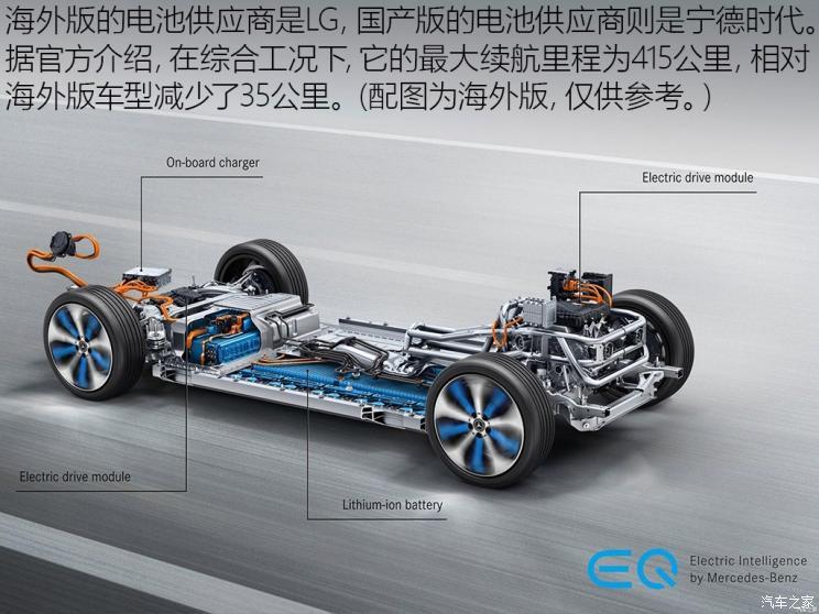 第一款国产的电动车型 实拍北京奔驰EQC