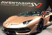 【2019上海车展】兰博基尼Aventador SVJ Roadster亮相上海车展