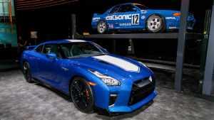 【纽约车展】日产发布50周年纪念版GT-R