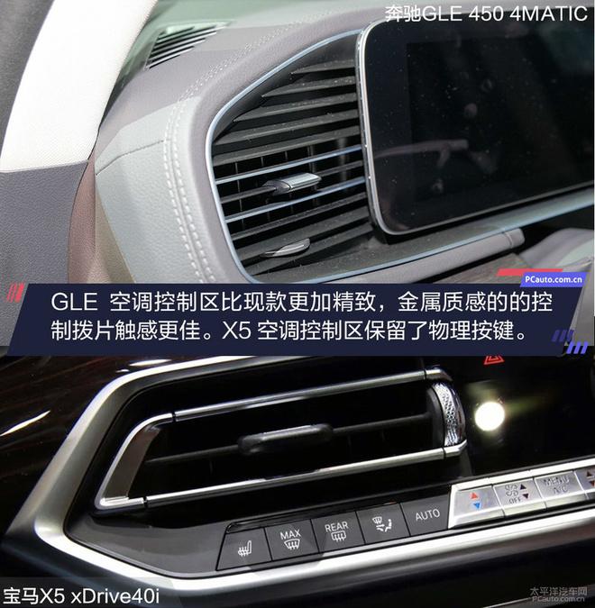 一寸长一寸强 全新奔驰GLE对比宝马X5