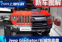 Jeep Gladiator/长城炮系列底盘对比