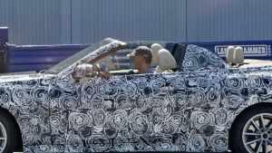 全新宝马4系敞篷版车型谍照曝光!或于年内首发亮相!
