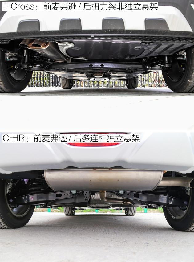 小号途昂让日系霸主慌了神 大众T-Cross对比丰田C-HR