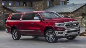 道奇或将推出RAM大型SUV车型