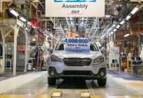 庆祝斯巴鲁美国工厂第400万台车下线