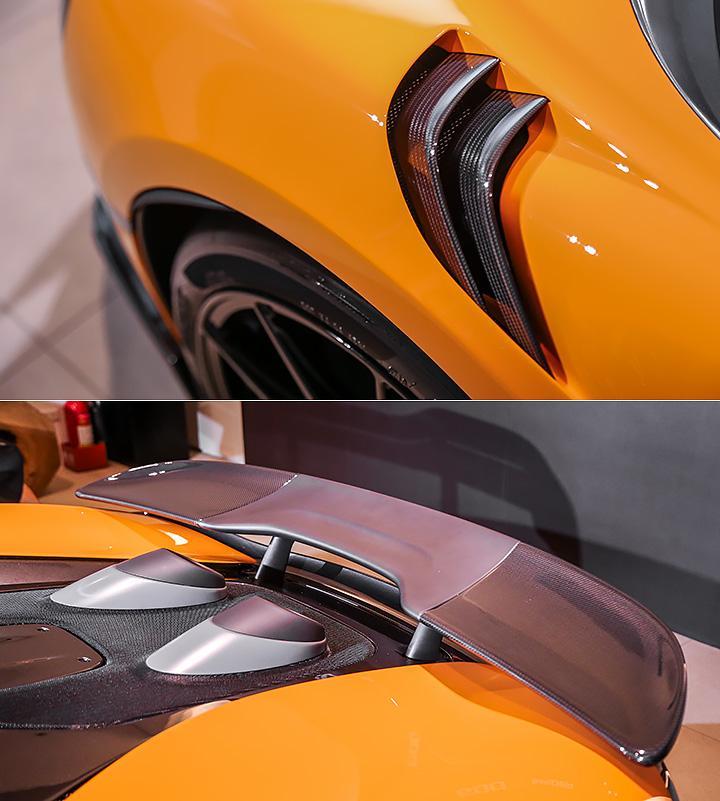 超跑的细节不如豪车?实拍迈凯轮Senna与600LT