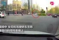 左转要让直行?女司机:我没让,但开的慢,你就不应该撞上来!