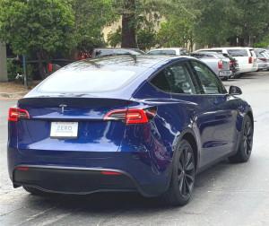 特斯拉Model Y实车曝光,官方预售价43.5万元起