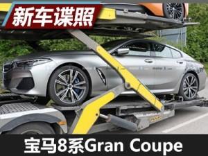 线条流畅 宝马8系Gran Coupe低伪谍照