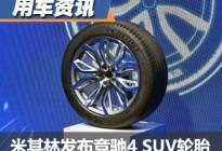 主打运动和操控 米其林发布全新SUV轮胎