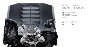 豪华全尺寸 雷克萨斯LX570配置分析