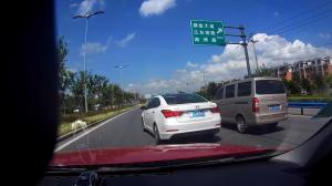 刘一实车演示超车、会车技巧,简单实用,新手学会了开车轻松不少