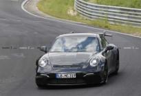 全新保时捷911 GT3谍照曝光,自然吸气最后的挣扎?