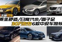 30万左右的豪华中型轿车推荐,见客户得有面儿!