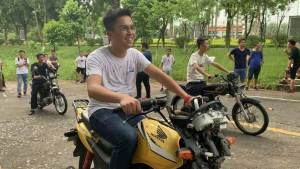 最近周末|我在禁摩的广州考了一个摩托车牌