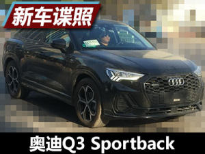 溜背式轎跑SUV 曝國產奧迪Q3 Sportback