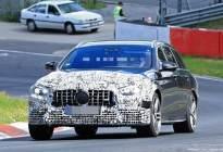 梅赛德斯奔驰AMG E63谍照曝光,将与宝马M5相竞争