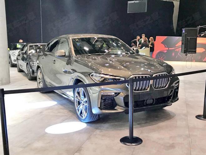 2019法兰克福车展探馆 宝马全新X6亮相