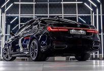 全新宝马7系海外实车 精致的车身风格