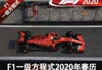 全年22场比赛 F1一级方程式2020年赛历