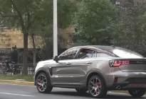 全新领克05亮相国内街头,新车外形十分动感!