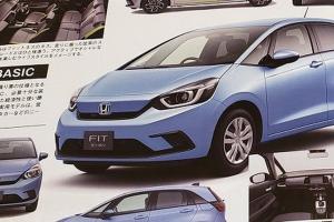 本田新一代飛度信息曝光 明天東京車展正式亮相